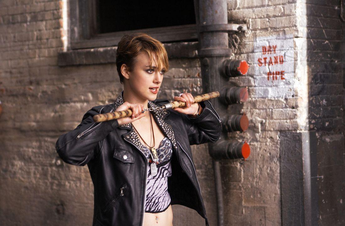Bisher hat Domino (Keira Knightley) hat ein ganz normales Leben geführt, doch dann schließt sie sich einer Gruppe Kopfgeldjägern an, um ihre Lust... - Bildquelle: Constantin Film