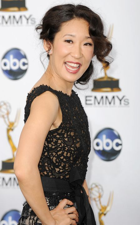 Grey's Anatomy - Darsteller: Cristina (Sandra Oh) 1243 x 2000 - Bildquelle: AFP