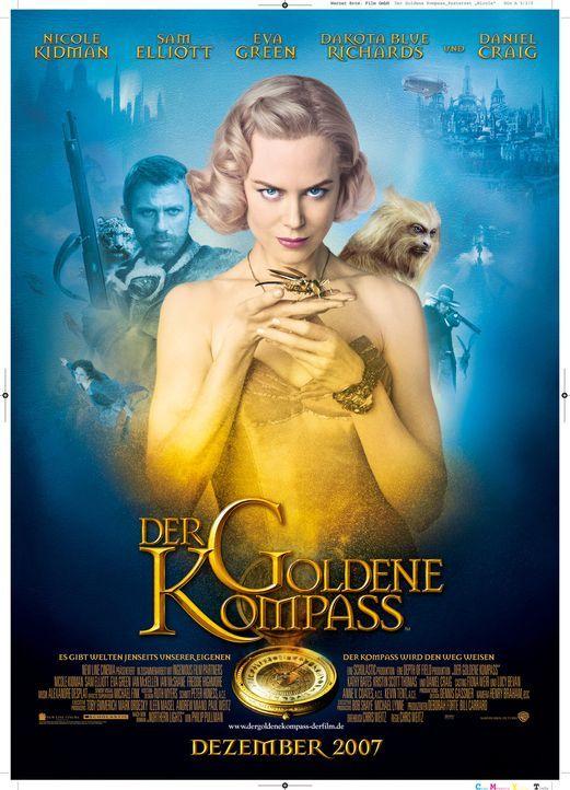"""""""DER GOLDENE KOMPASS"""" - Plakatmotiv - Bildquelle: Warner Bros."""