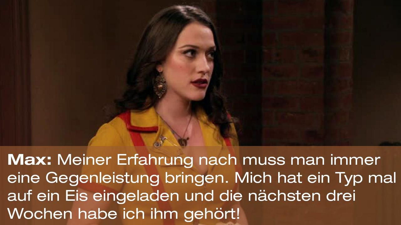 2-broke-girls-zitat-quote-staffel2-episode11-geschaeftspartnerin-max-gegenleistung-warnerpng 1600 x 900 - Bildquelle: Warner Bros. International Television