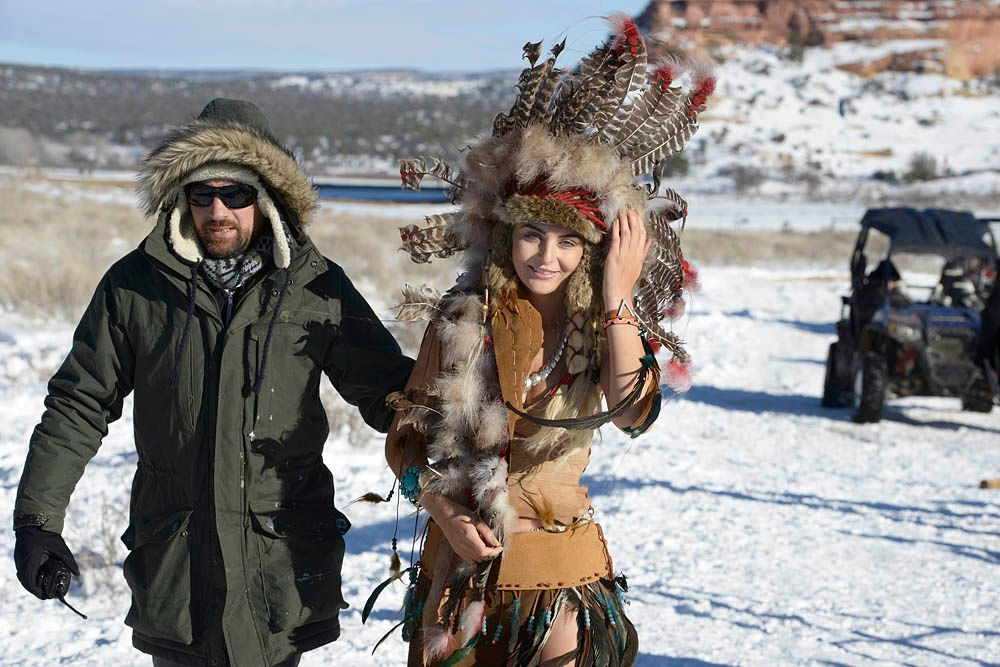 GNTM-Stf09-Epi08-Indianer-Shooting-20-ProSieben-Oliver-S - Bildquelle: ProSieben/Oliver S.
