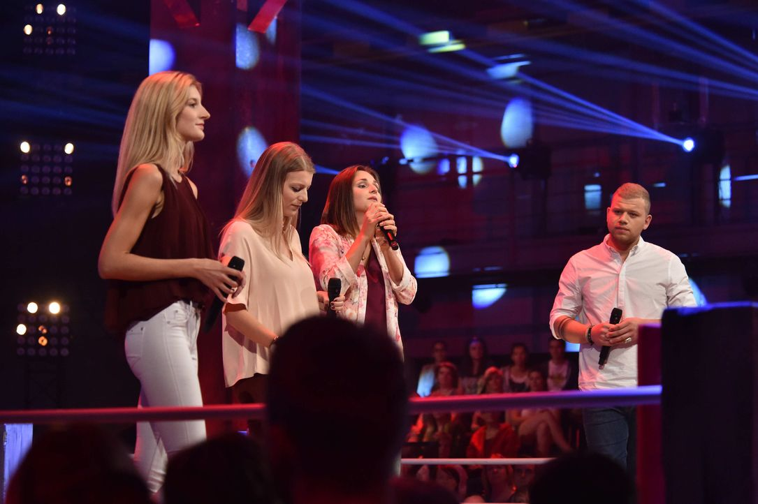 TVOG_AK1_4130.JPG_Tay_Sarah,Maria,Teresa - Bildquelle: ProSieben/Andre Kowalski