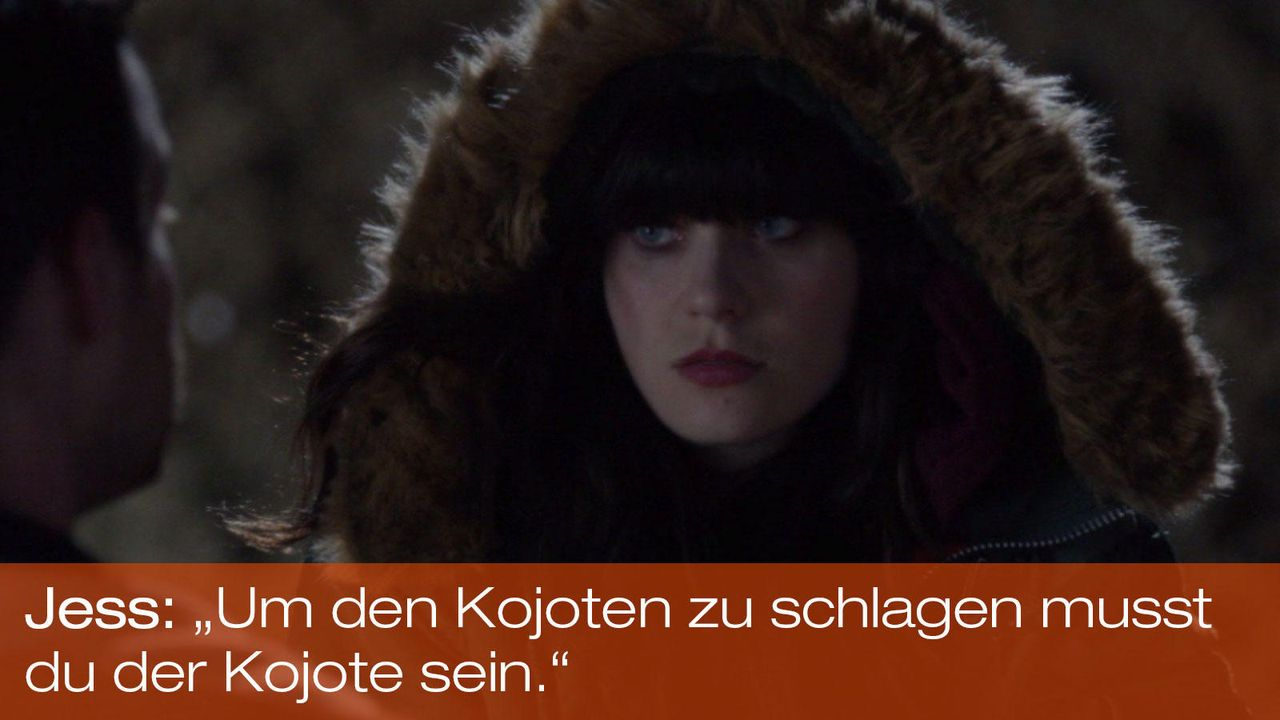 New Girl - Zitate - Staffel 1 Folge 24: Jess (Zooey Deschanel) - Bildquelle: 20th Century Fox