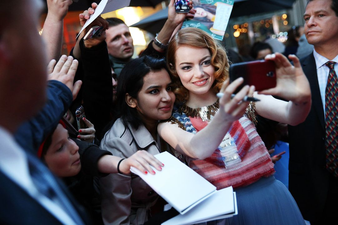 spiderman2-premiere-berlin-Emma-Stone-140415-Sony-Pictures - Bildquelle: 2014 Sony Pictures Releasing GmbH