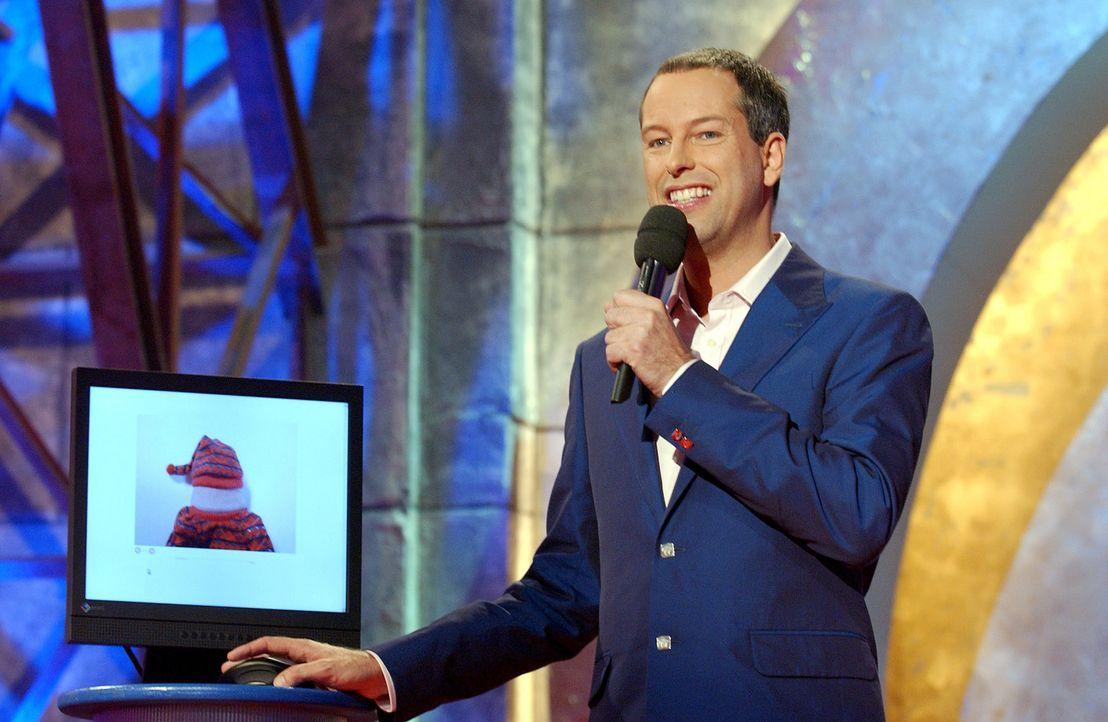 """Thomas Hermanns als Gastgeber im """"Quatsch Comedy Club"""". - Bildquelle: ProSieben/Schumann"""