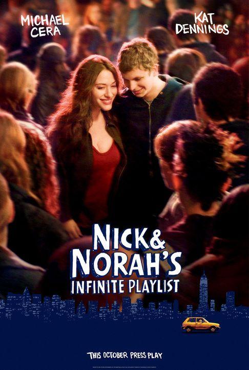 NICK UND NORAH - SOUNDTRACK EINER NACHT - Plakatmotiv - Bildquelle: 2008   CPT Holdings, Inc. All Rights Reserved. (Sony Pictures Television International)