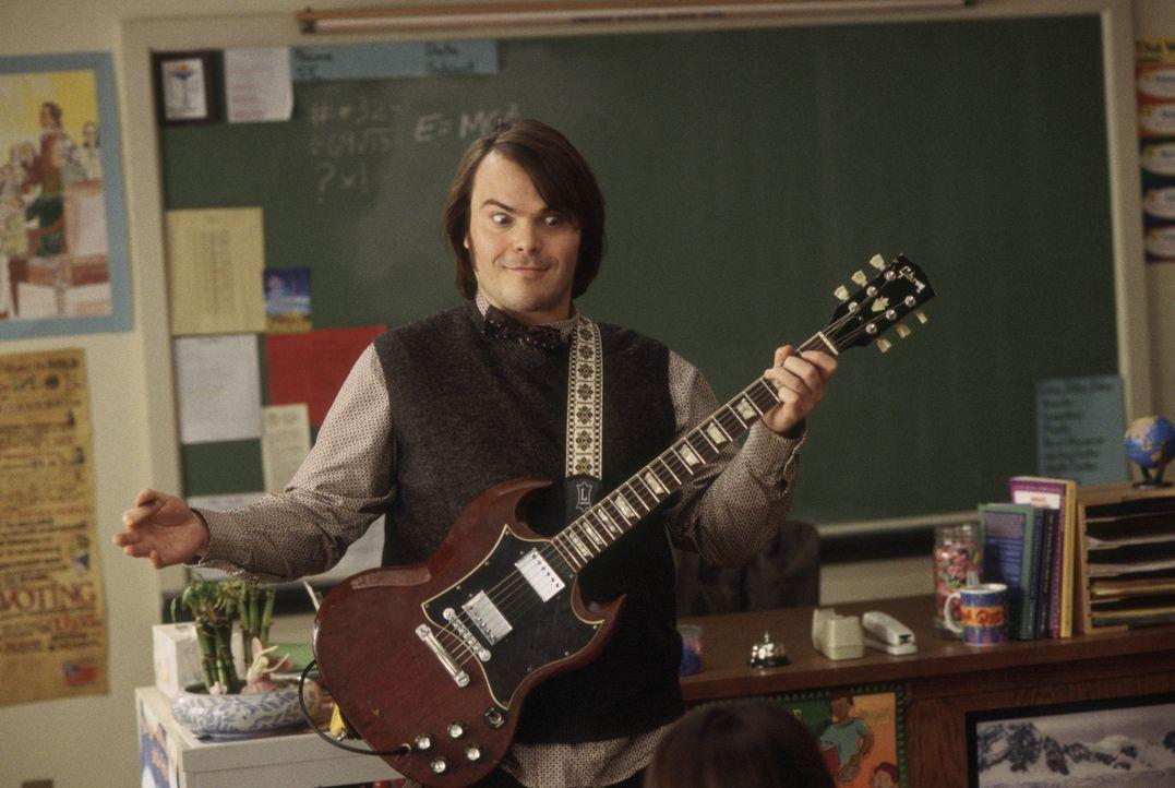 Als Gitarrist Dewey Finn (Jack Black) von seiner Band gefeuert wird und sein Mitbewohner gleichzeitig die Mietschulden eintreiben will, hat er gleic... - Bildquelle: Paramount Pictures