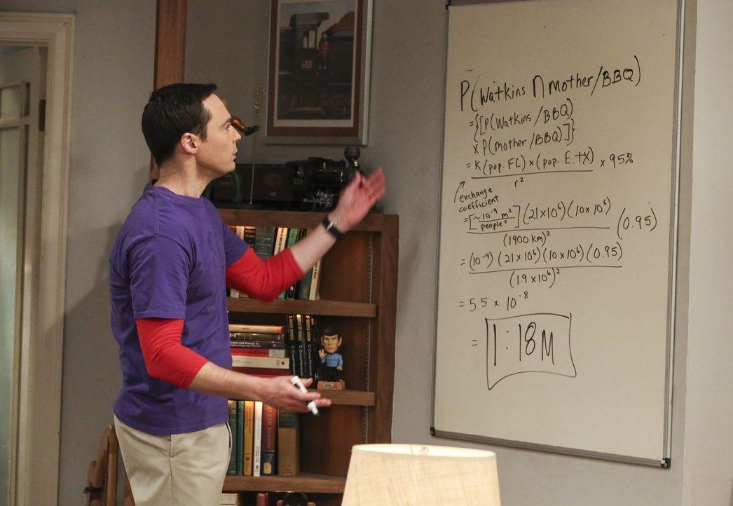 Sucht nach einem neuen Projekt: Sheldon (Jim Parsons) ... - Bildquelle: Warner Bros. Television