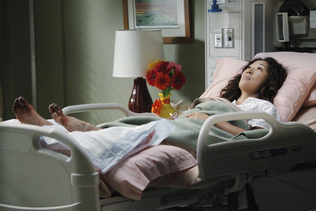 Rückblende: Der schrecklich Flugzeugabsturz hat bei Christina (Sandra Oh) große Spuren hinterlassen ... - Bildquelle: ABC Studios
