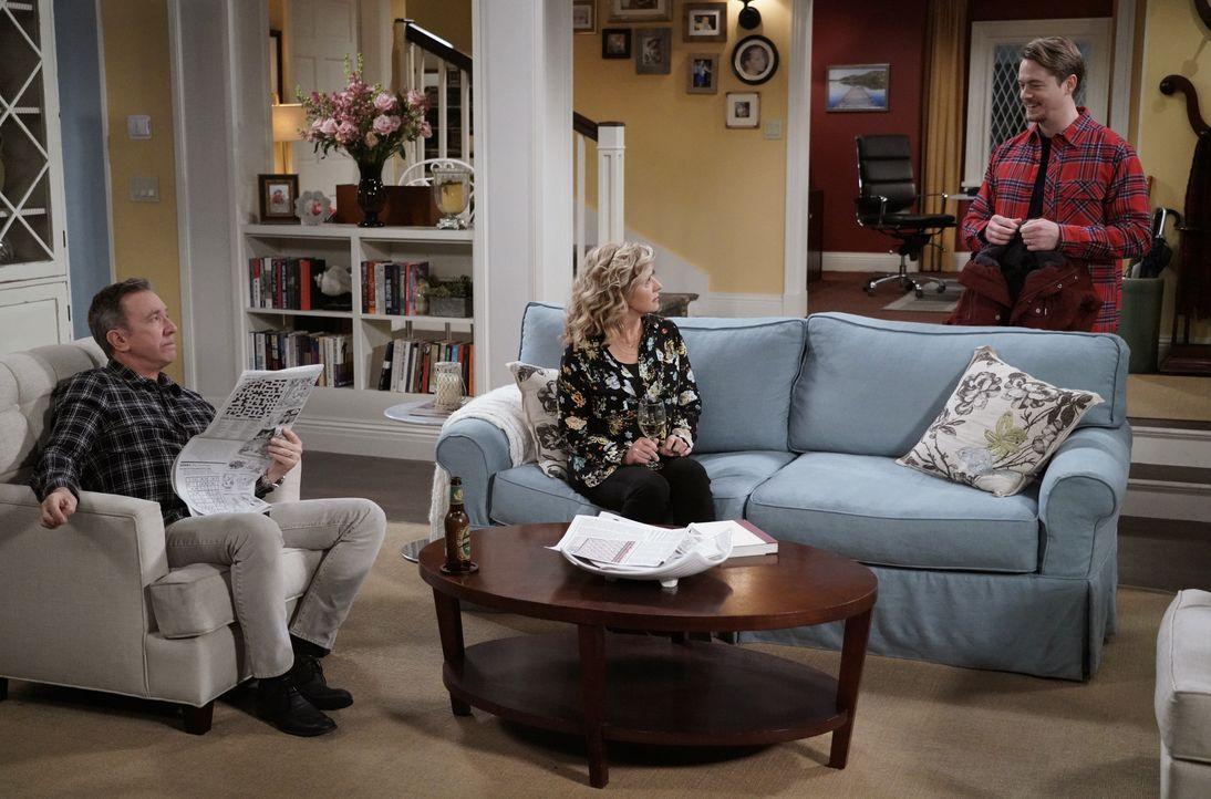(v.l.n.r.) Mike Baxter (Tim Allen); Vanessa Baxter (Nancy Travis); Kyle Anderson (Christoph Sanders) - Bildquelle: 2018-2019 Twentieth Century Fox Film Corporation.  All rights reserved.