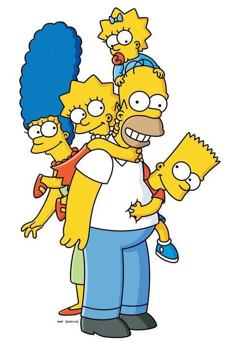 (19. Staffel) - Die Simpsons sind eine nicht alltägliche Familie: (v.l.n.r.) Marge, Lisa, Homer, Maggie und Bart ... - Bildquelle: 2007FOX BROADCASTING
