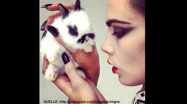 Cara-Delevigne-easter-Instagram - Bildquelle: http://instagram.com/caradelevingne