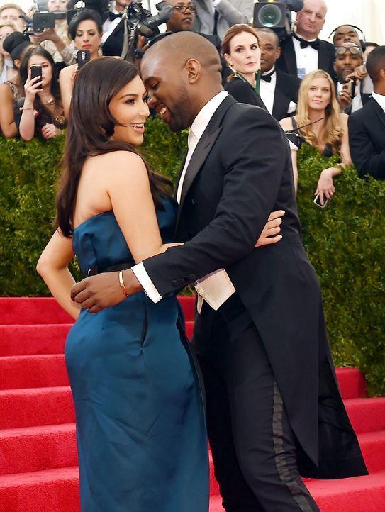 Kim-Kardashian-Kanye-West-140505-AFP - Bildquelle: AFP