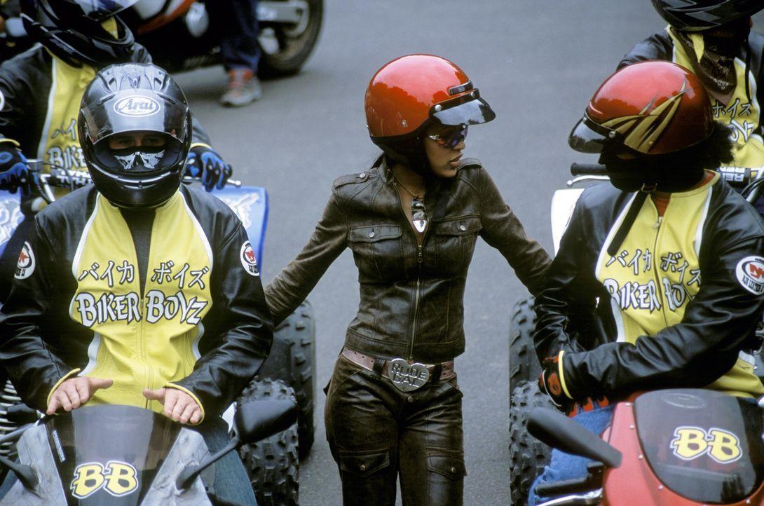 Ein spannendes Rennen beginnt: (v.l.n.r.) Stuntman (Brendan Fehr), Tina (Meagan Good) und Primo (Rick Gonzalez) ... - Bildquelle: DreamWorks SKG