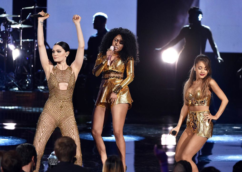 Jessie-J-Nicki-Minaj-Ariana-Grande-14-11-23-getty-AFP - Bildquelle: getty-AFP