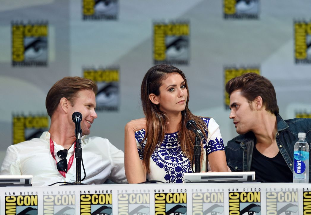 Matthew-Davis-Nina-Dobrev-Paul-Wesley-14-07-26-AFP - Bildquelle: Getty-AFP