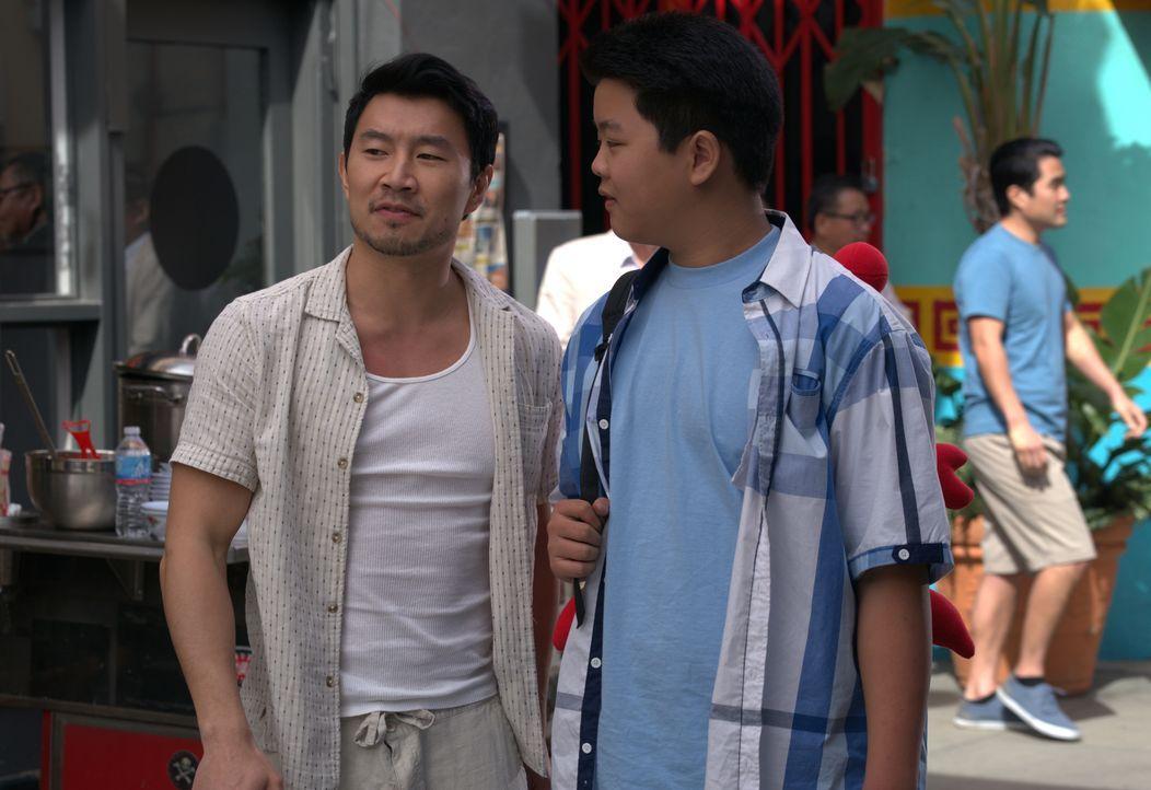 Willie (Simu Liu, l.); Eddie Huang (Hudson Yang, r.) - Bildquelle: 2018-2019 American Broadcasting Companies.  All rights reserved.