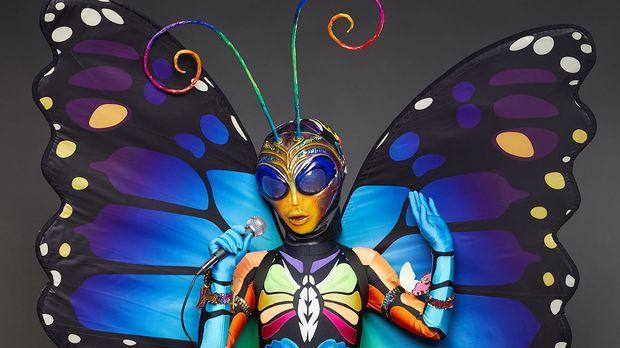The Masked Singer Schmetterling