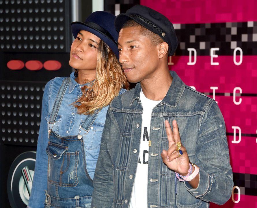 MTV-VMAs-150830-16-Pharrell-Williams-Helen-Lasichanh-getty-AFP - Bildquelle: MARK RALSTON / AFP