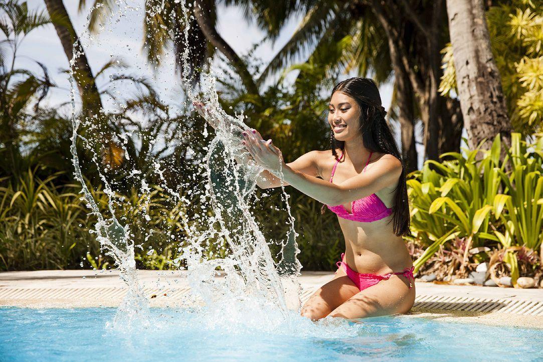 GNTM-Stf10-Epi13-Bikini-Shooting-Malediven-77-Anuthida-ProSieben-Boris-Breuer-TEASER - Bildquelle: ProSieben/Boris Breuer