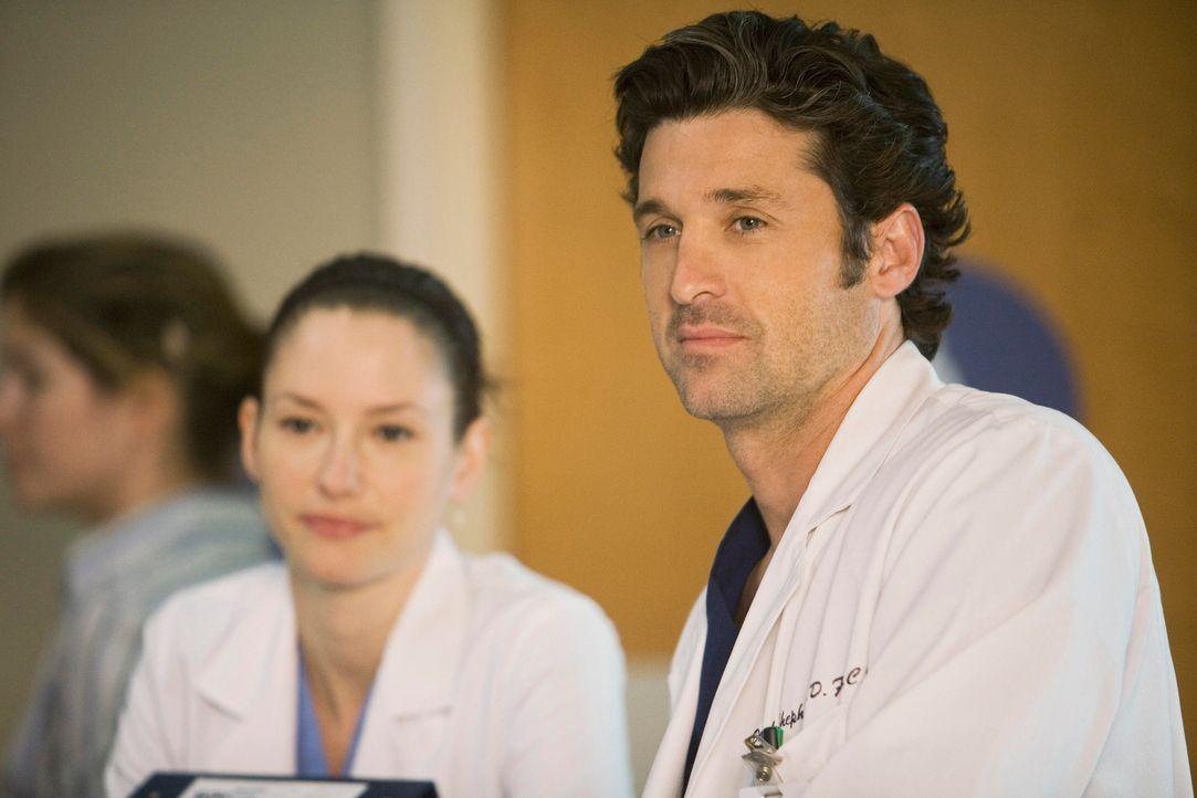Grey's Anatomy – Mark und Lexie – 04: Lexie (Chyler Leigh), Derek (Patrick Dempsey) - Bildquelle: ABC Studios