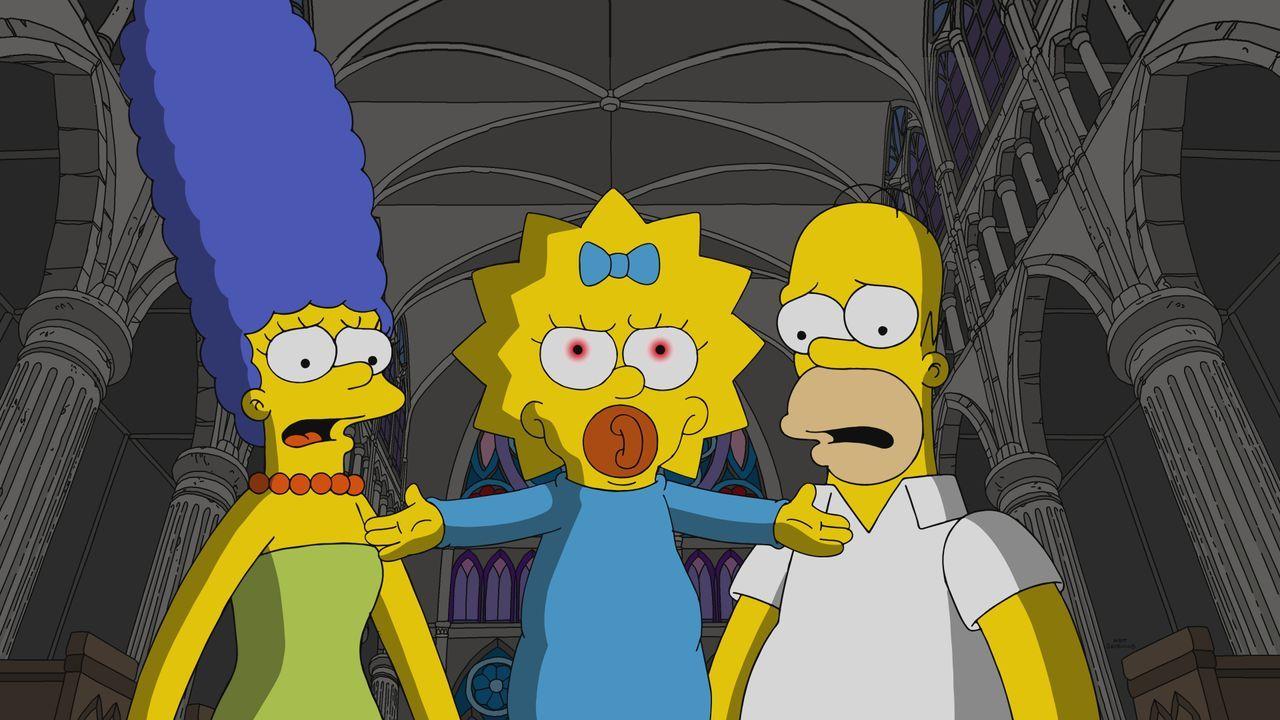 (v.l.n.r.) Marge; Maggie; Homer - Bildquelle: 2019-2020 Twentieth Century Fox Film Corporation.  All rights reserved.