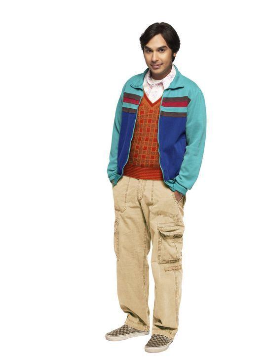 (10. Staffel) - Führt ein etwas schräges Leben: Rajesh (Kunal Nayyar) ... - Bildquelle: Warner Bros. Television