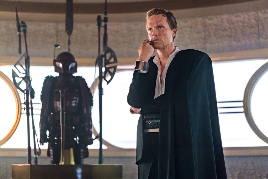 Dryden Vos (Paul Bettany) - Bildquelle: Jonathan Olley & TM Lucasfilm Ltd. 2018 / Jonathan Olley