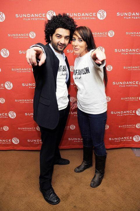 sundance-film-festival-mohamed-al-daradji-isabelle-stead-10-01-25-getty-afpjpg 1332 x 2000 - Bildquelle: getty - AFP