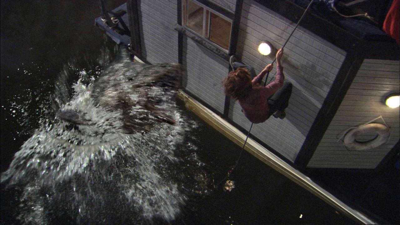 Der Frankenfish: Im Labor aus einer lebensgefährlichen Schlange gezüchtet und genetisch so verändert, dass er sowohl unter Wasser wie an Land atm... - Bildquelle: CPT Holdings, Inc. All Rights Reserved. (Sony Pictures Television International)