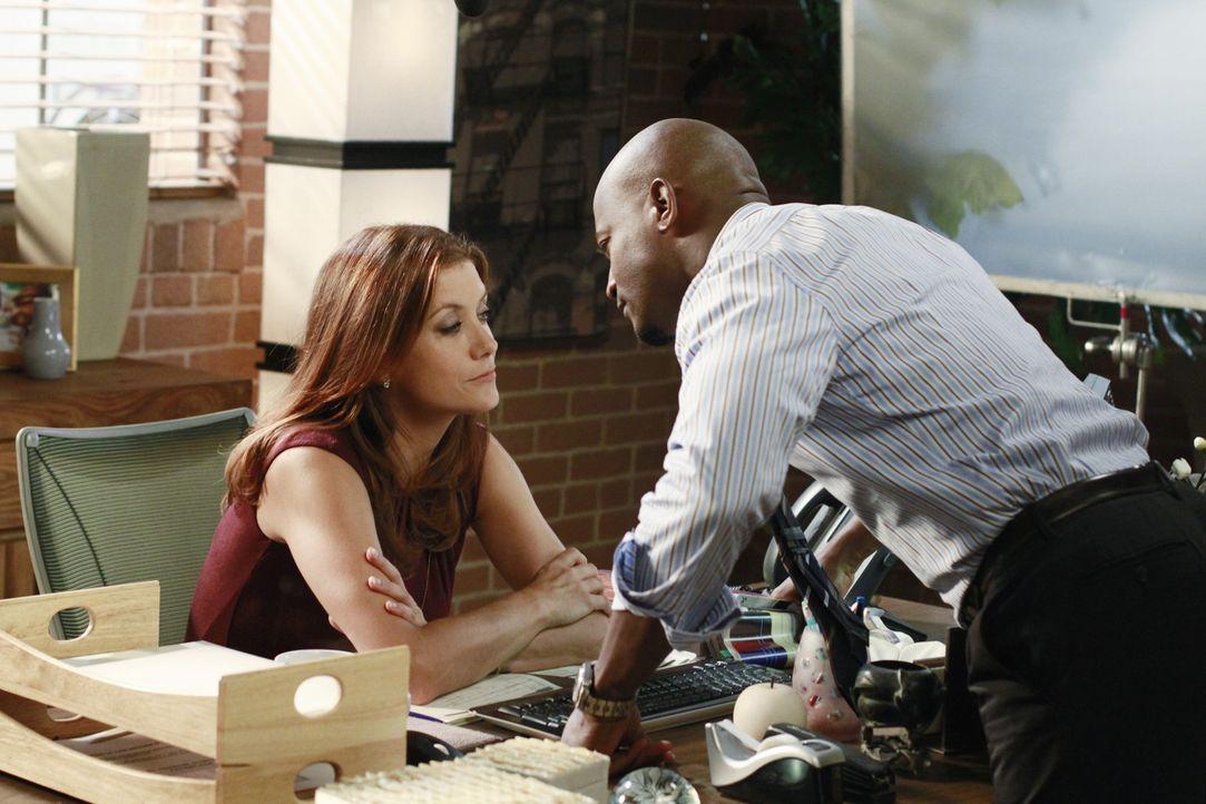 Hat ihre Liebe eine Chance? Addison (Kate Walsh, l.) und Sam (Taye Diggs, r.) ... - Bildquelle: ABC Studios