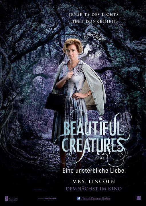 BEAUTIFUL CREATURES - EINE UNSTERBLICHE LIEBE - Plakatmotiv - Bildquelle: 2013 Concorde Filmverleih GmbH
