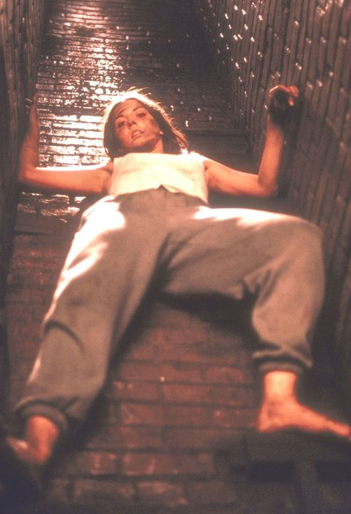 Verzweifelt sucht Lori (Stephanie Jones) Zuflucht im Kamin ihres Elternhauses. Doch die brutalen Eindringlinge sind ihr weiterhin auf den Fersen ... - Bildquelle: New City Releasing