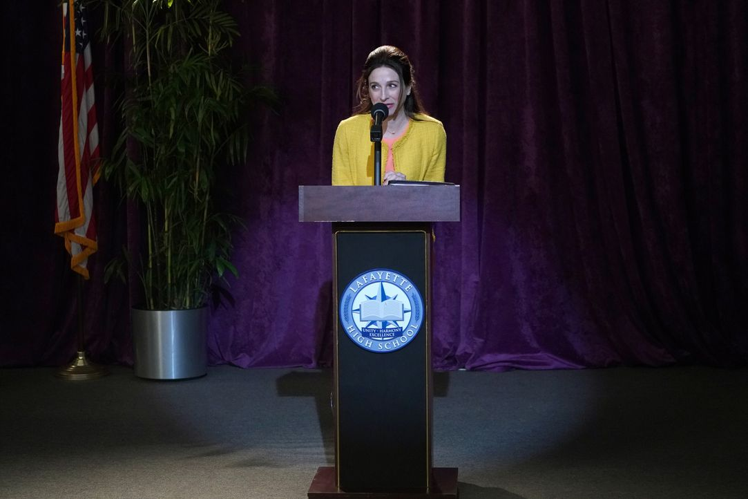 Dr. Miller (Marin Hinkle) - Bildquelle: 2018-2019 American Broadcasting Companies. All rights reserved.