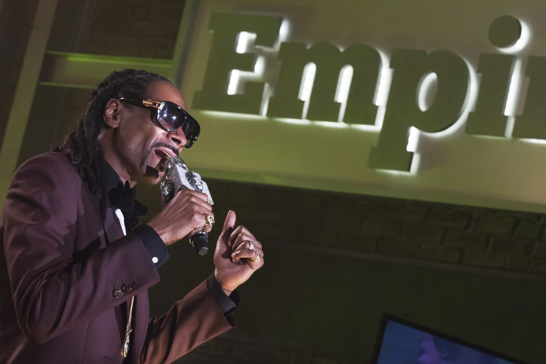 Eigentlich sollte sich alles um das neue Album drehen. Doch Snoop Dogg (Snoop Dogg) wird von Hakeems Rap gegen seinen Vater überschattet ... - Bildquelle: 2015 Fox and its related entities.  All rights reserved.