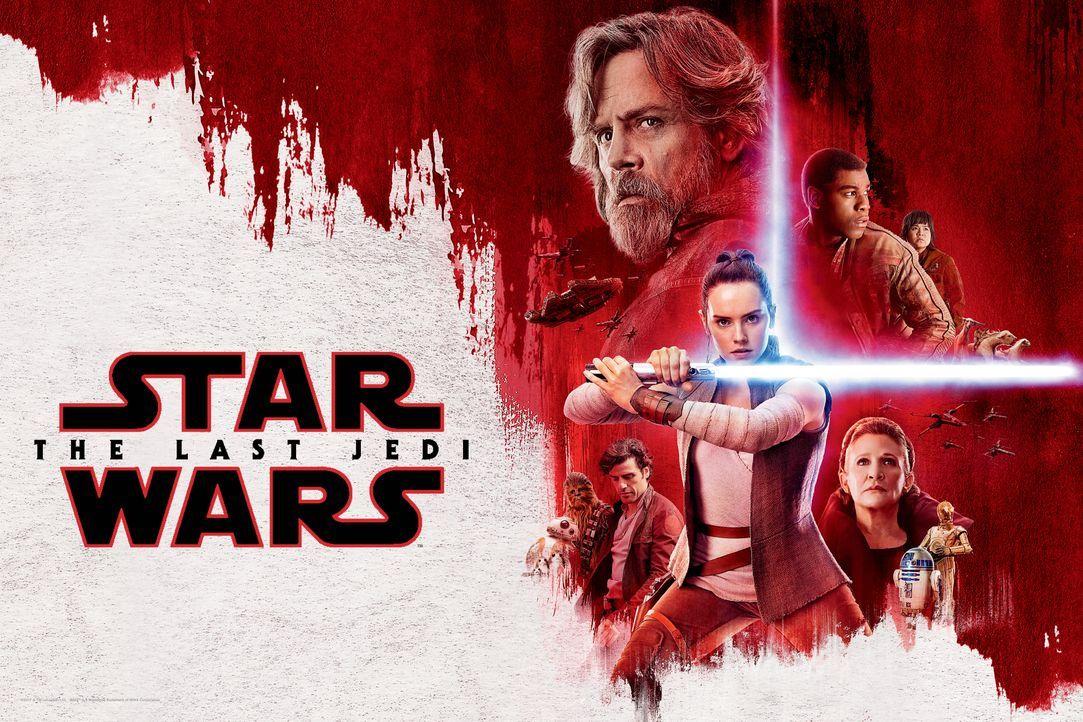 Star Wars: Die letzten Jedi - Artwork - Bildquelle: 2017 & TM Lucasfilm Ltd.