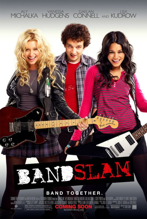BANDSLAM - GET READY TO ROCK! - Plakatmotiv - Bildquelle: Van Redin 2009 SUMMIT ENTERTAINMENT, LLC and WALDEN MEDIA, LLC ALL RIGHTS RESERVED