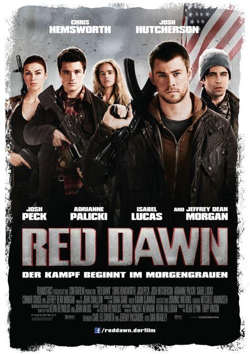 Red Dawn - Plakat - Bildquelle: 2012 Concorde Filmverleih GmbH