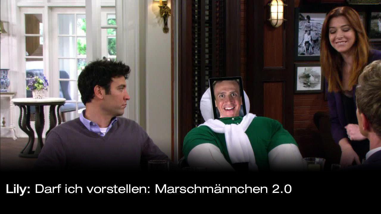 How-I-Met-Your-Mother-Zitate-Staffel-9-15-Lily-marschmaennchen - Bildquelle: 20th Century Fox Film Corporation all rights reserved.