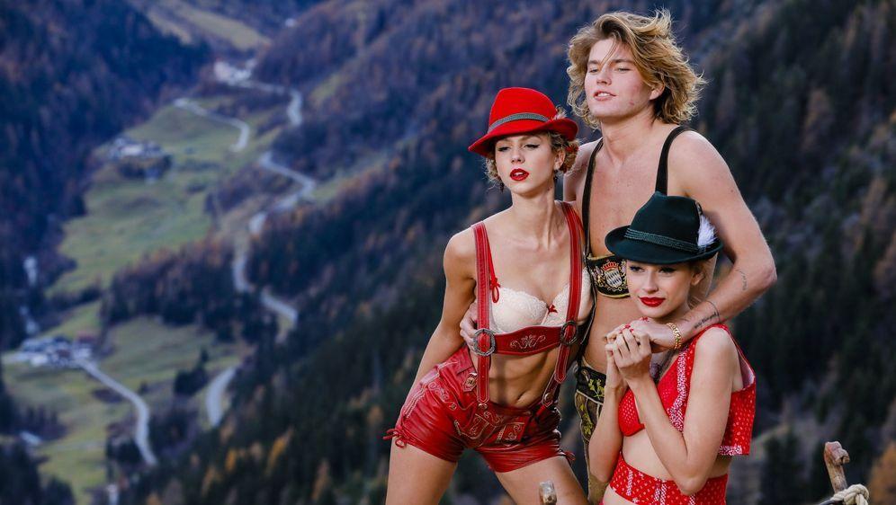 utterly stylish quality design united kingdom GNTM: Sexy Shooting mit Male Model Jordan Barrett