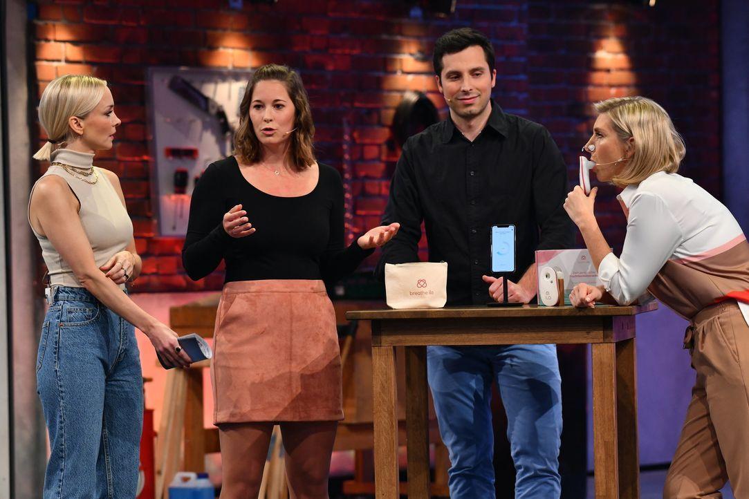 (v.l.n.r.) Janin Ullmann; Lisa Krapinger; Bastian Rüther; Lea-Sophie Cramer - Bildquelle: Willi Weber ProSieben / Willi Weber