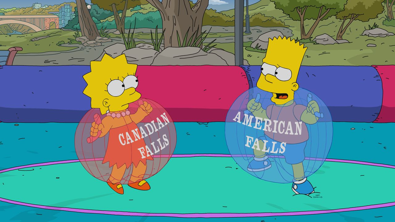 Lisa (l.); Bart (r.) - Bildquelle: 2018-2019 Fox and its related entities.  All rights reserved.