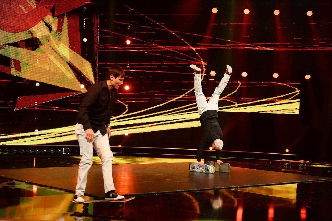 Got-To-Dance-Guenther-Eddie-01-SAT1-ProSieben-Willi-Weber - Bildquelle: SAT.1/ProSieben/Willi Weber