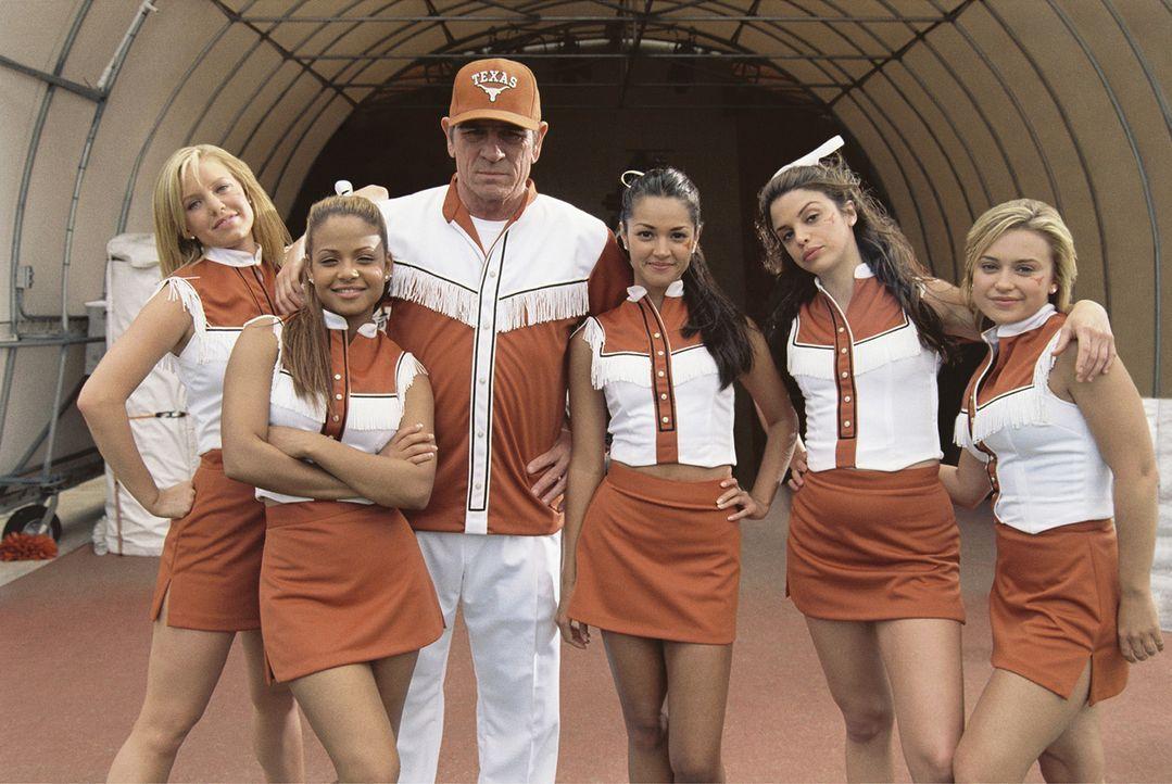Eines Tages wird Gruppe von Cheerleadern der Universität von Texas (v.l.n.r.: Kelli Garner, Christina Milian, Paula Garcés, Vanessa Ferlito, Monic... - Bildquelle: Sony Pictures Entertainment