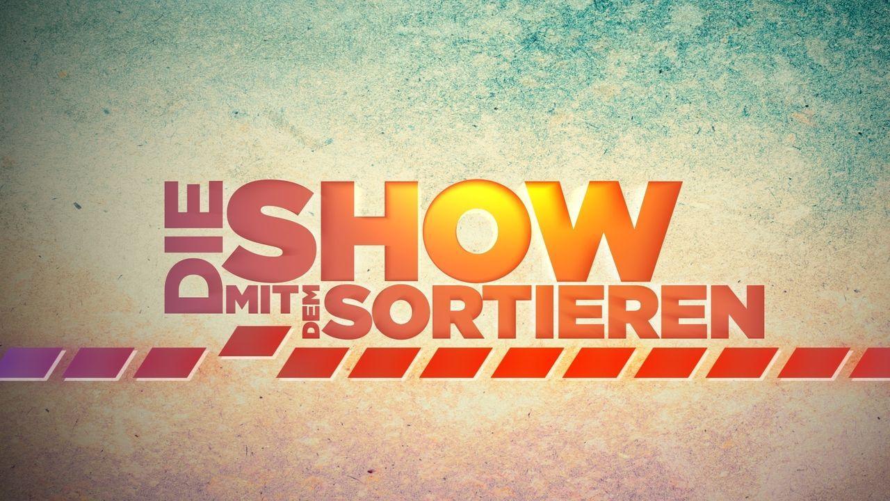 Die Show mit dem Sortieren - Logo - Bildquelle: ProSieben