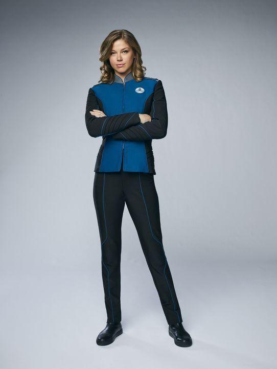 (1. Staffel) - Wird sich Kelly Grayson (Adrianne Palicki) von ihrem Ex-Mann, dem neuen Captain der USS Orville, wirklich etwas sagen lassen? - Bildquelle: 2017 Fox and its related entities.  All rights reserved.