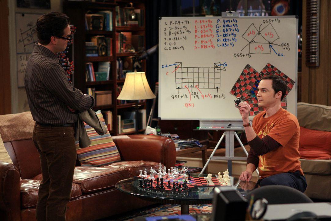 Sind sich nicht immer einig: Leonard (Johnny Galecki, l.) und Sheldon (Jim Parsons, r.) ... - Bildquelle: Warner Bros. Television