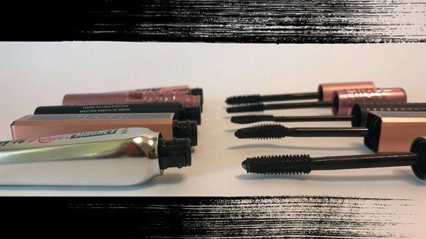 Vorhang auf für unsere 5 Top Make-up Produkte – wir haben fünf Mascaras von A...