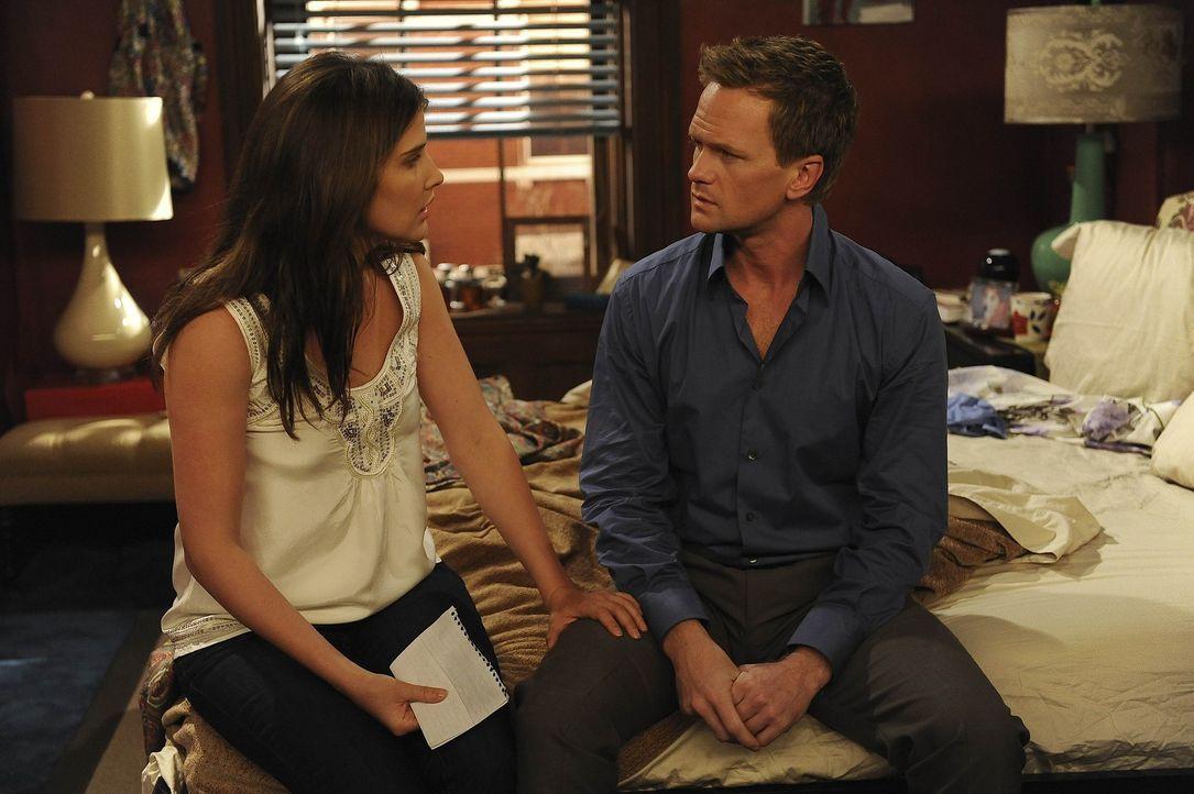 Nur gute Freunde? Barney (Neil Patrick Harris, r.) und Robin (Cobie Smulders, l.) ... - Bildquelle: 20th Century Fox International Television