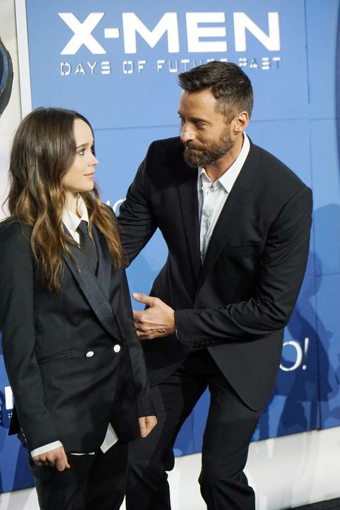 X-Men-Days-of-Future-Past-Premiere-New-York-Ellen-Page-Hugh-Jackman-140510-getty-AFP - Bildquelle: getty-AFP